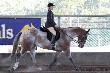 Kate Allison & Triple L Dream N Time were the champions of the Youth 14 to 18 Years Hunter Under Saddle.