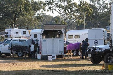 It was standing room only at the start of the 2007 Queensland Paint Horse State Championships held at Caboolture Showgrounds - and it stayed that way until the very end.