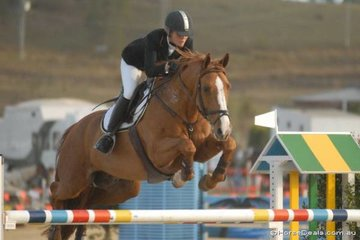 NSW rider, Julia Hargreaves rode her 'Copabella Haymen' to take seventh place in the final Silver Series qualifier.