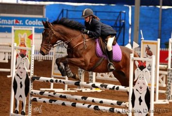 AP Cruise Control & Kirstie Ansell competed in the 1.15m Welcome Stakes