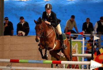 Celestial Haze & Matt Kidston were 1st in the Young Riders 1.25m class and also 3rd in the 1.25m Welcome Stakes