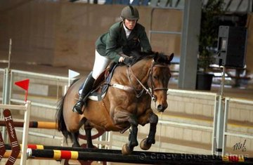 Kiwi Haka & Rebecca Crack were 5th place in the 1.25m Welcome Stakes with a clear round and time of 31.16 seconds