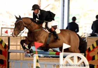 Vancouver & Oliver Edgecombe (NZ) competed in the 1.35m Class