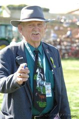 Honorary Council Steward, Noel Kopittke has been directing traffic at the EKKA for 25 years. Noel's tie caught our attention on the first day of horse judging.