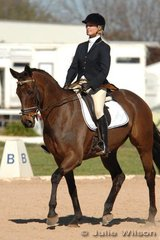 Chloe James and the experienced RL Sir William competed in the CNC*.