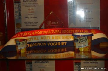 Did you know they even have Champion Yoghurt?