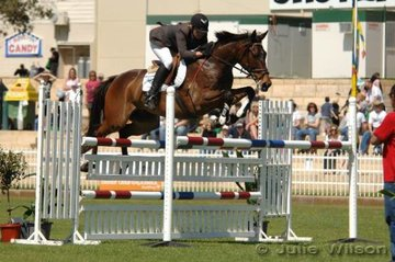 Holly Elmis rode .08 to fifth place in the Susanne Bond memorial Part Two Mini Prix.