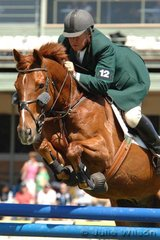 Ever green showjumping rider, Les Bunning rode In Tune to win the Susanne Bond Memorial Part Two Mini Prix. Les was very pleased to win this class and commented that showjumping in Australia has a  debt to Susanne and her family.