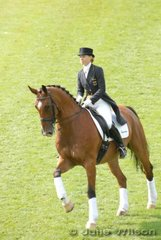 Reining Dressage World Champion, Nadine Capellmann, is an Aachen girl. She is on the WEG Advisory board and represented the Dressage riders in the Opening Ceremony.