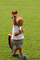 The WEG Mascot, 'Karli'.