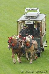 The Aachen Horsedrawn Tram.