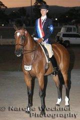 Champion Rider 17 Years & Under 21 Years went to Peta Jackson