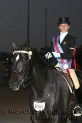 Reserve Rider 17 years & Under 21 Years went to Patricia Pilz