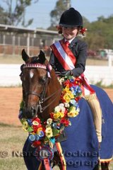 Champion Owner Rider Small Pony Of The Year & Reserve Champion Small Pony Of The Year 'Diamonds Of Tuscany' ridden by Bridgette Chalmers
