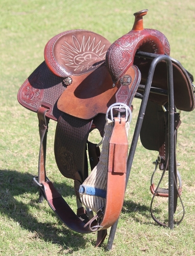 Charmayne James Barrel Saddle