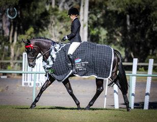 Jessica fedrick calculated  champion owner rider hack