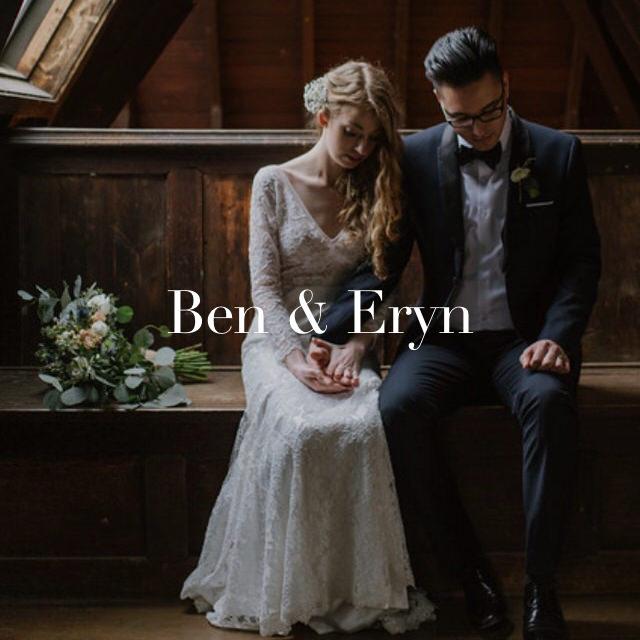 Wedding Flowers for Ben & Eryn