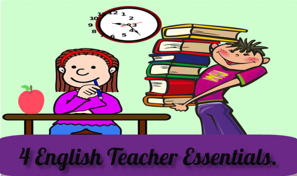 4 Essential Activities for an English Teacher.