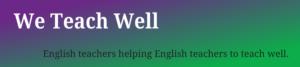 Helping English teachers
