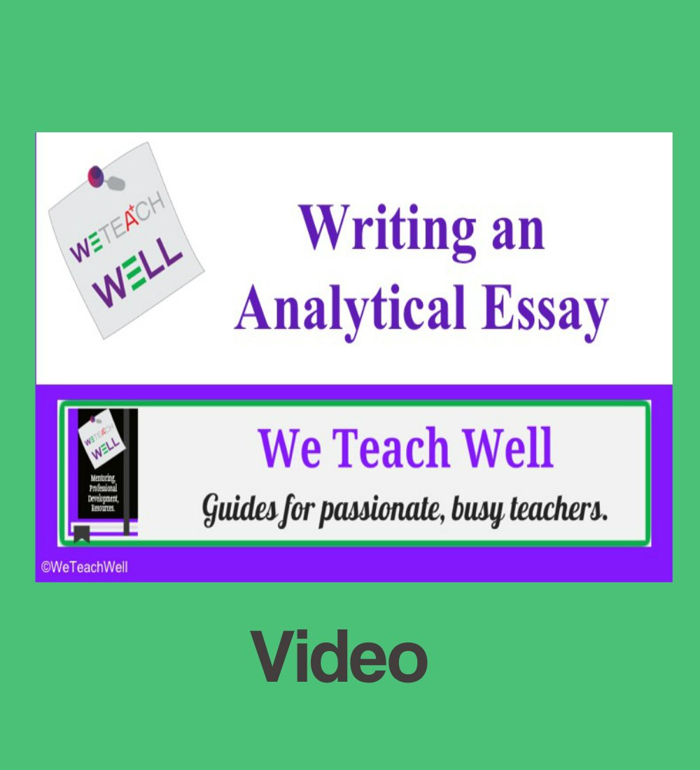 Gay Marriage Essay Thesis Teaching Essay Writing English Argument Essay Topics also Argumentative Essay Papers Analytical Essay Writing  Video  We Teach Well Examples Of A Thesis Statement For A Narrative Essay