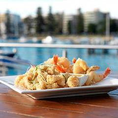 Deck Bistro at Manly Skiff Sailing Club