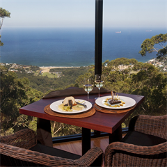 Dining on the Edge at Tumbling Waters Retreat