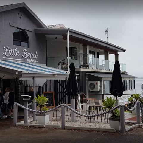 Little Beach Boathouse
