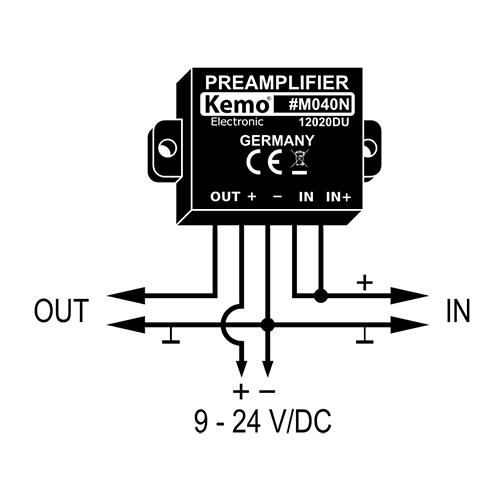 kemo m040n universal preamplifier module