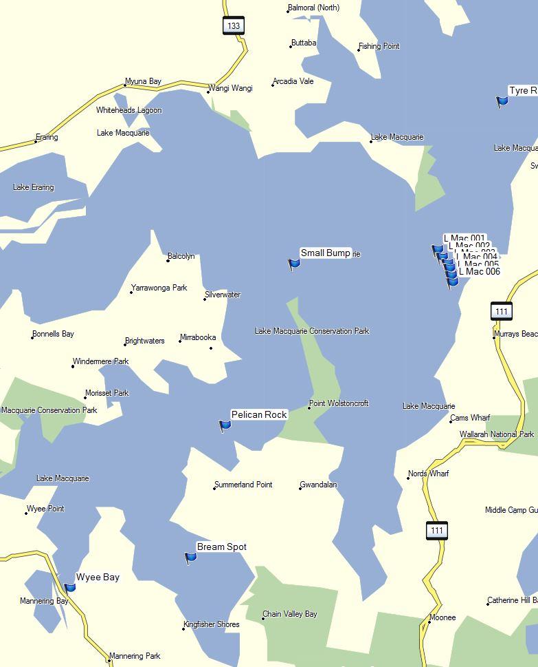 map lake macquarie fishing spots Anyone Know Any Spots For Lake Macquarie Fishing Chat Fishraider map lake macquarie fishing spots