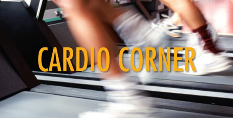 Fitness tip feature imagecardio corner sign