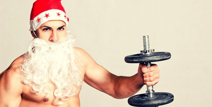 Health/wellbeing feature imagemuscle santa