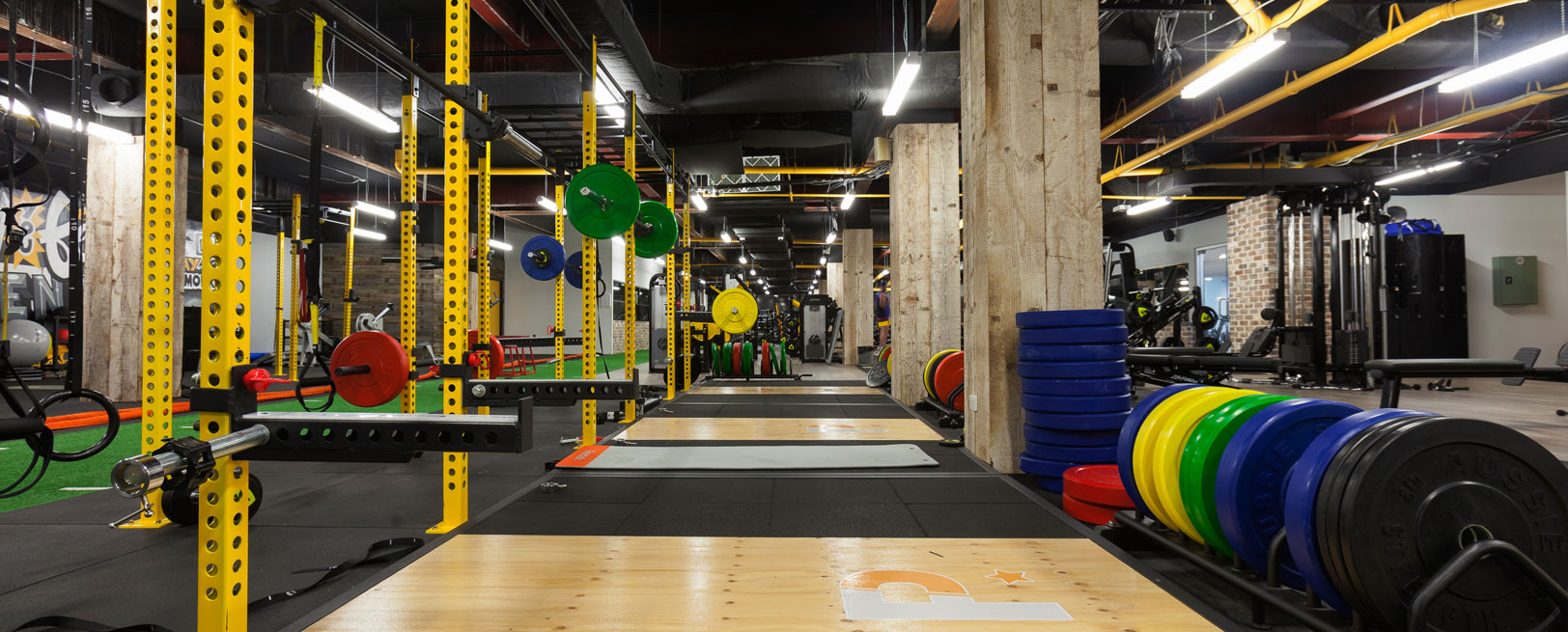 Marrickville's weight-training gym