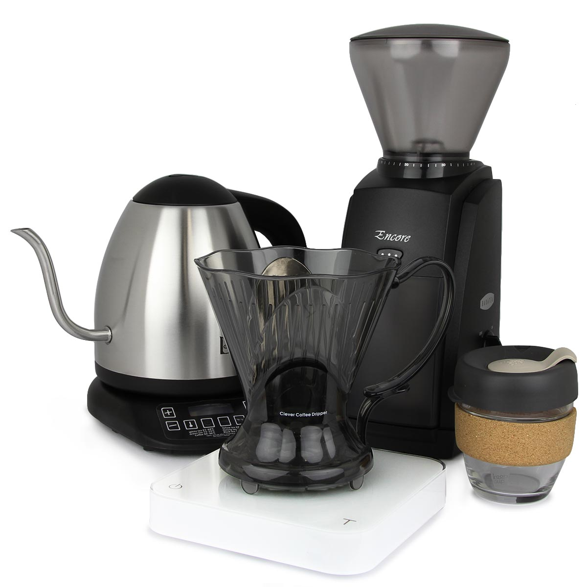 Home Brew Package - Clever Coffee Dripper | Five Senses Coffee
