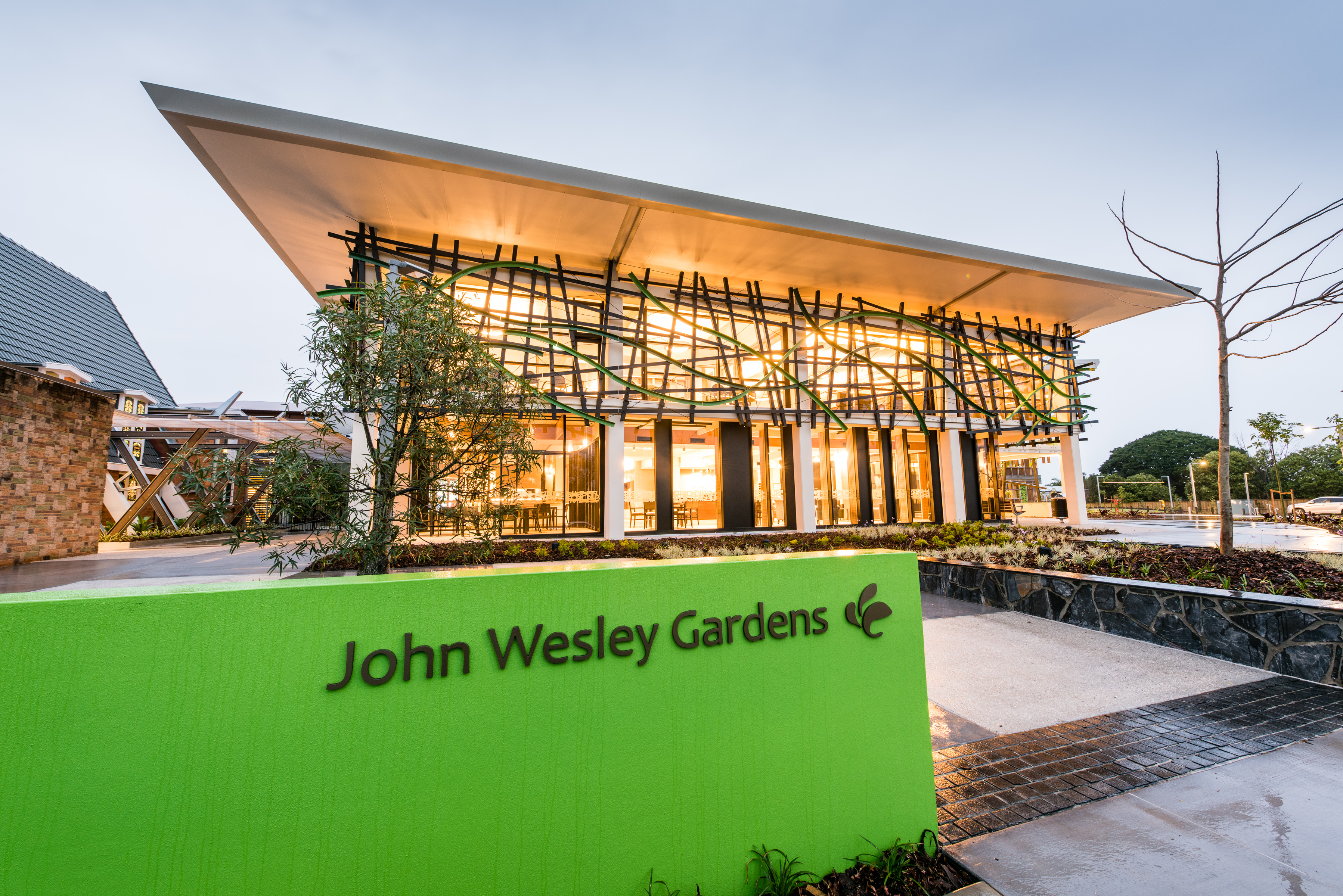 john wesley gardens aged care facility redevelopment - Wesley Gardens Nursing Home
