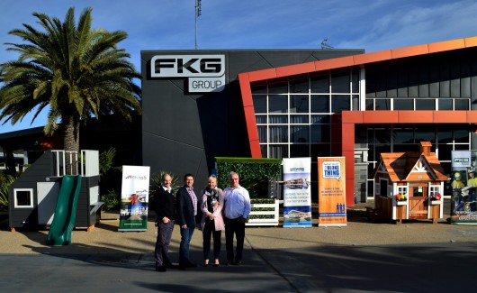 FKG GROUP HOSTS INAUGURAL CUBBY HOUSE  COMPETITION TO RAISE MONEY FOR PROSTATE CANCER