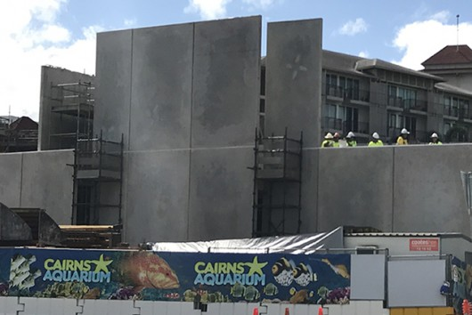 CAIRNS AQUARIUM FAÇADE REVEALED