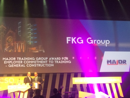 FKG GROUP WINS CONSTRUCTION SKILLS QLD AWARDS
