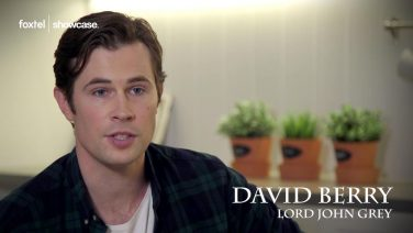 David Berry talks about what drew him to Outlander