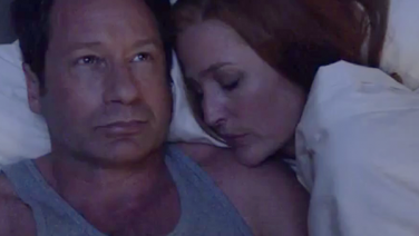 The X Files tease romance between Mulder and Scully
