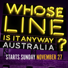 #WhoseLineAus – The 'Props' Game