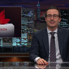 John Oliver Takes On The World