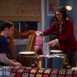 Amy And Sheldon's Date Night Experiment