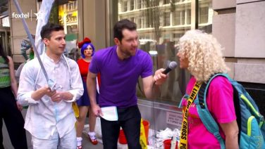 Andy Samberg On Billy On The Street