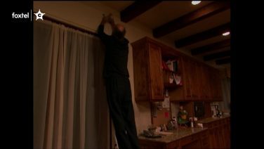 Larry David Silences a Smoke Detector