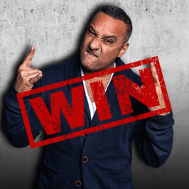 WIN a double pass to see Russell Peters' live show