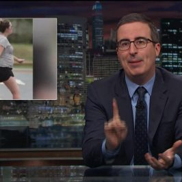 John Oliver takes on Barnaby Joyce