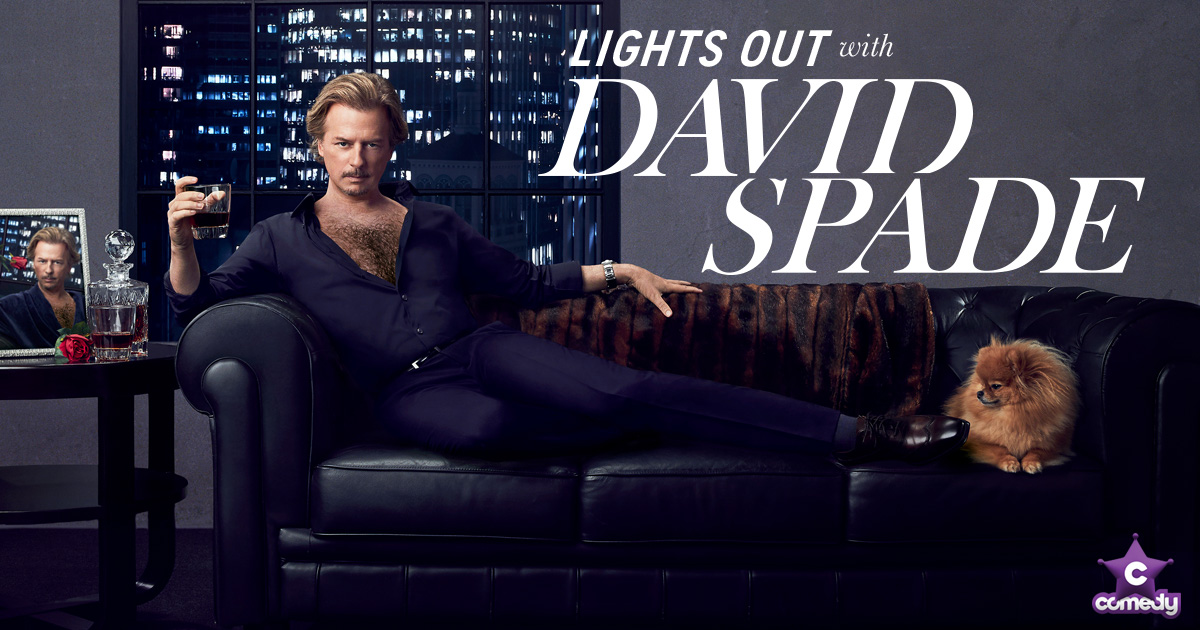Lights Out With David Spade ⋆ The Comedy Channel on Foxtel