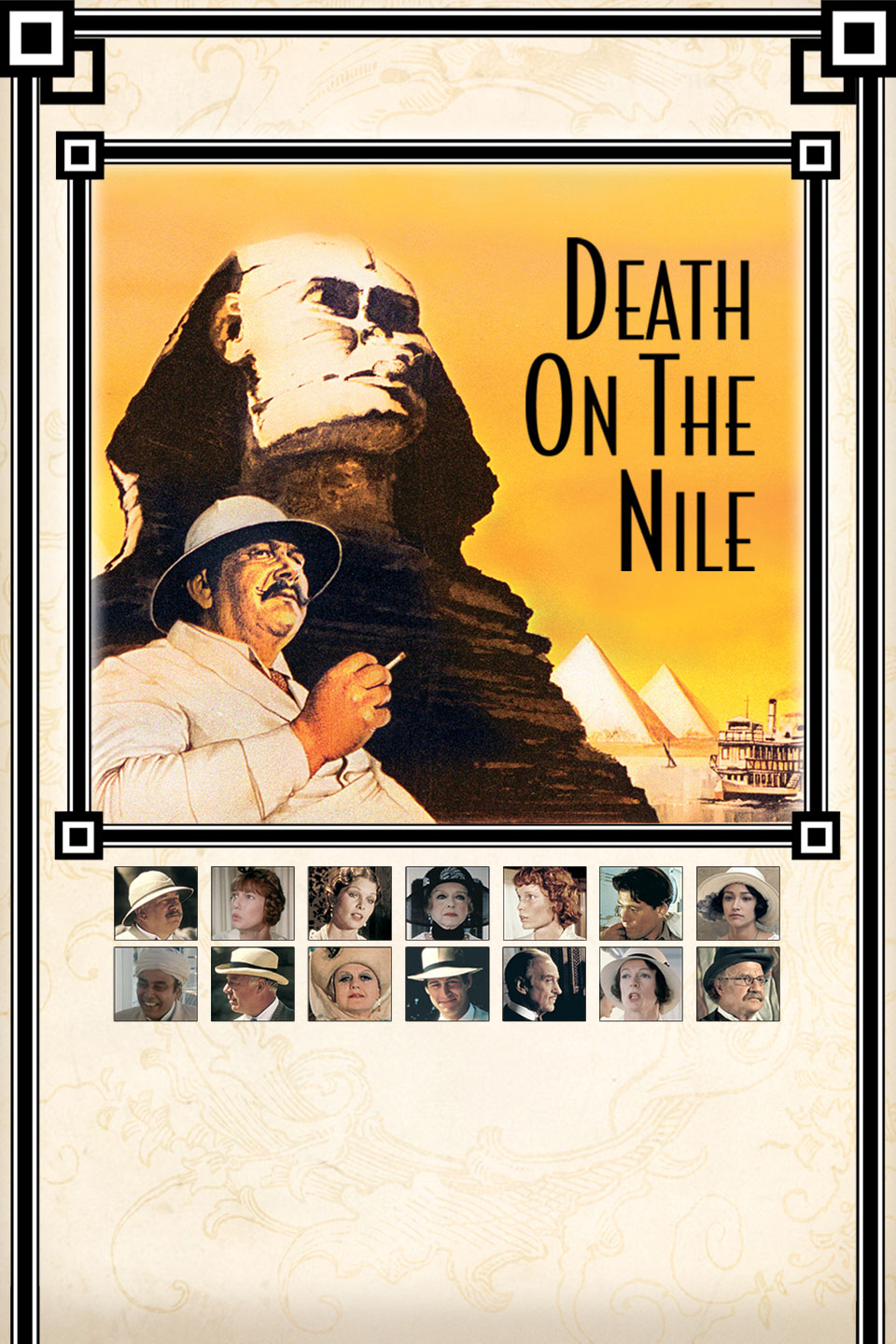 death on the nile 1978 movie poster