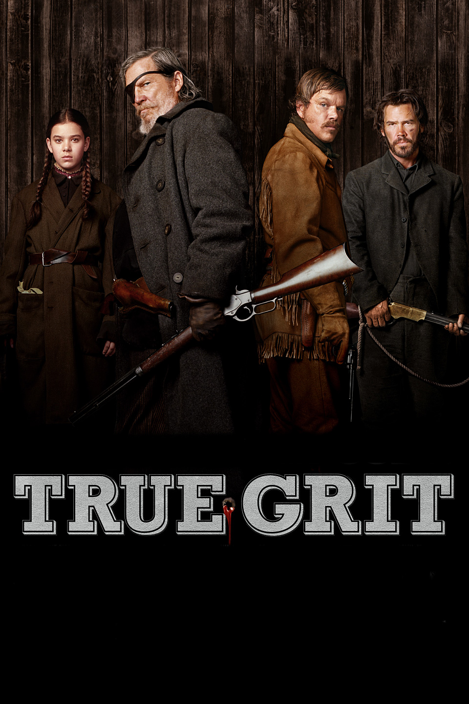 True Grit 2010 1080p BluRay x264 Dual Audio Hindi English MSUBS