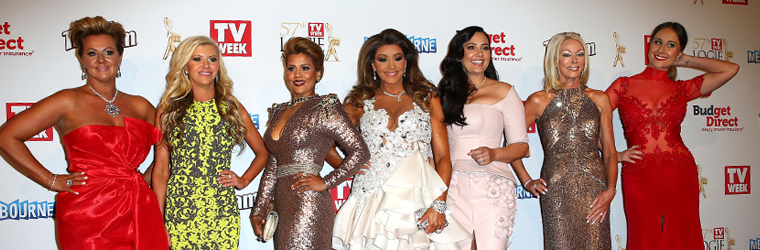 A look back at what The Housewives wore to the TV Week Logie Awards